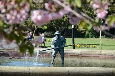 Lowther Gardens, to enjoy when walking in Lytham