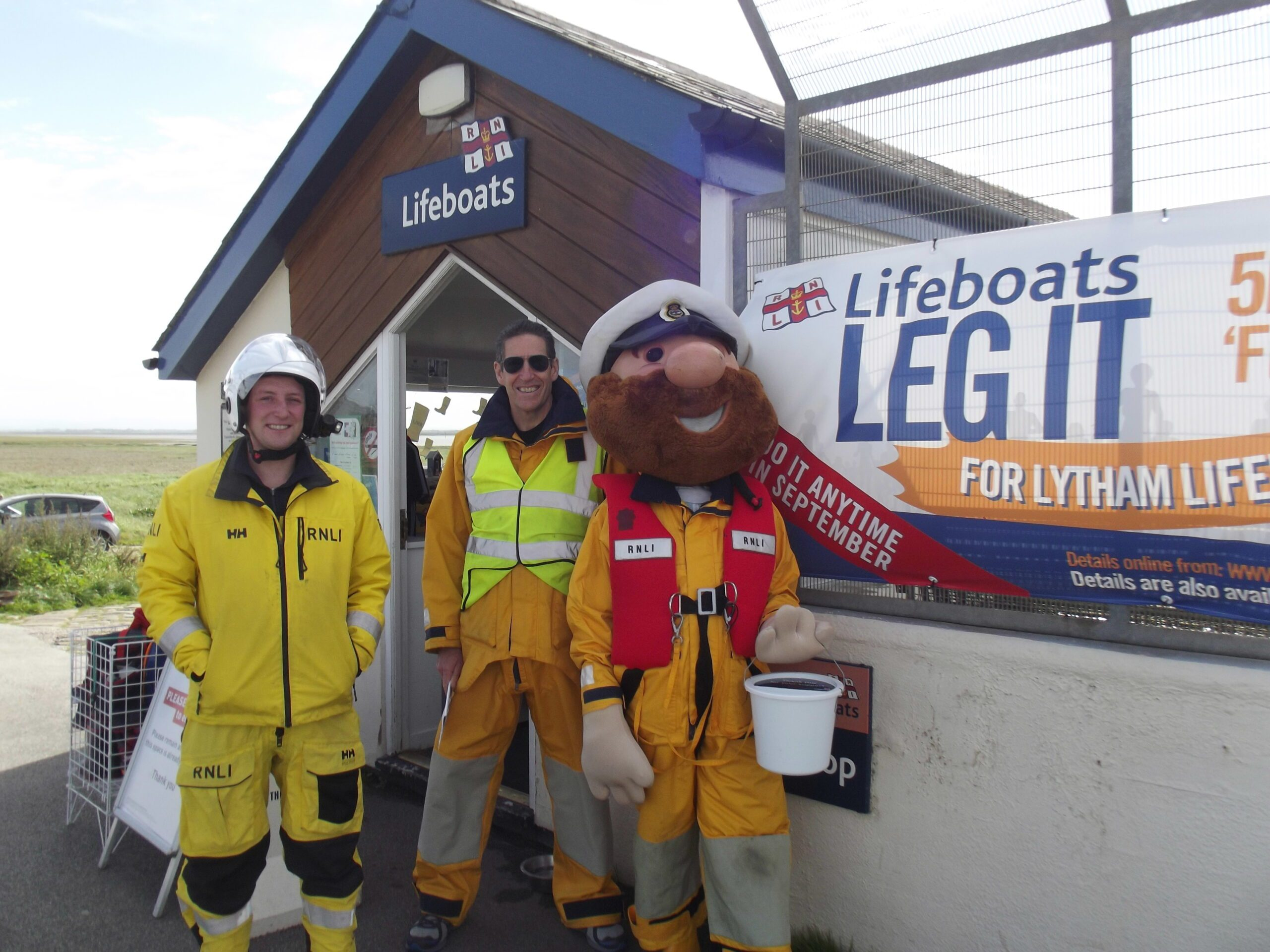 Leg it for Lytham St Annes Lifeboats
