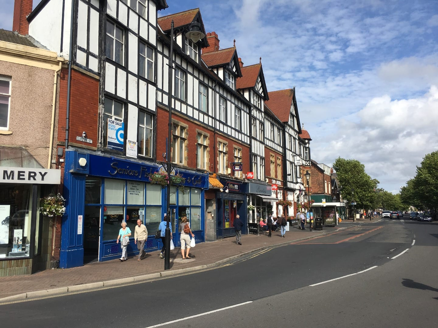 Clifton Street in Lytham town centre