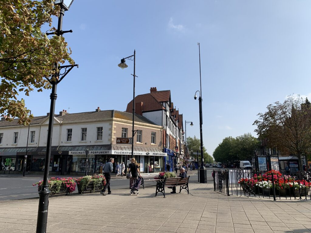 Clifton Square at the heart of the town centre