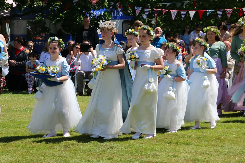 Lytham Club Day, Rose Queen and Retinue
