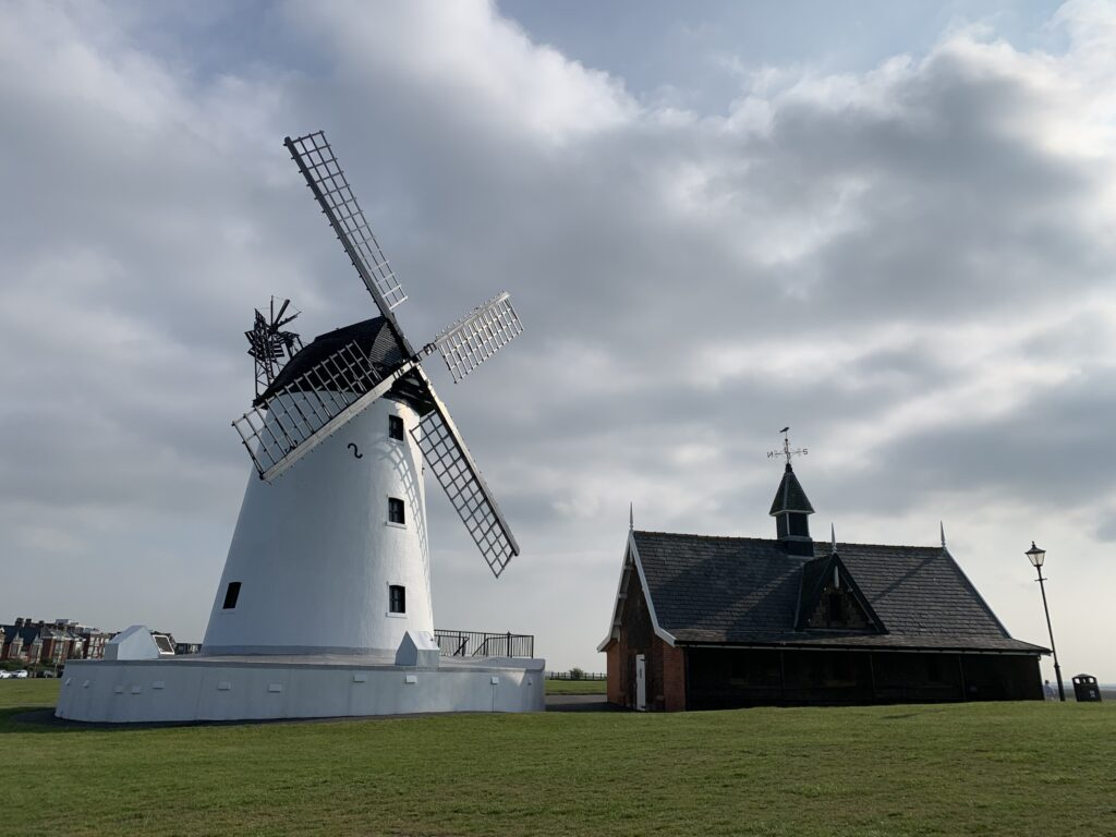 Lytham Windmill and Lifeboat Museum, on Lytham Green