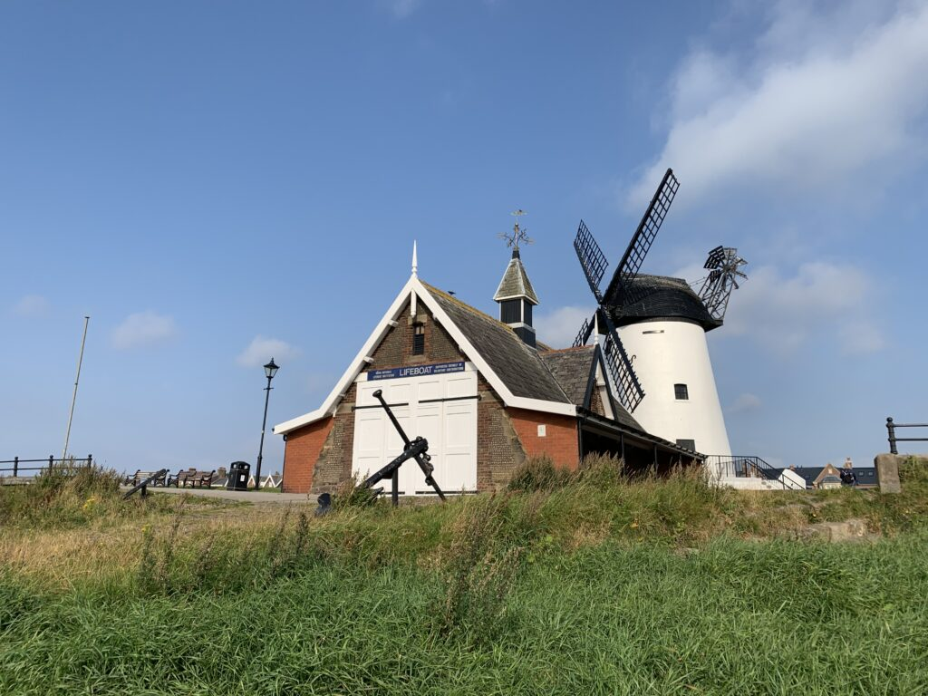 Lytham windmill and lifeboat museum, at Lytham Green