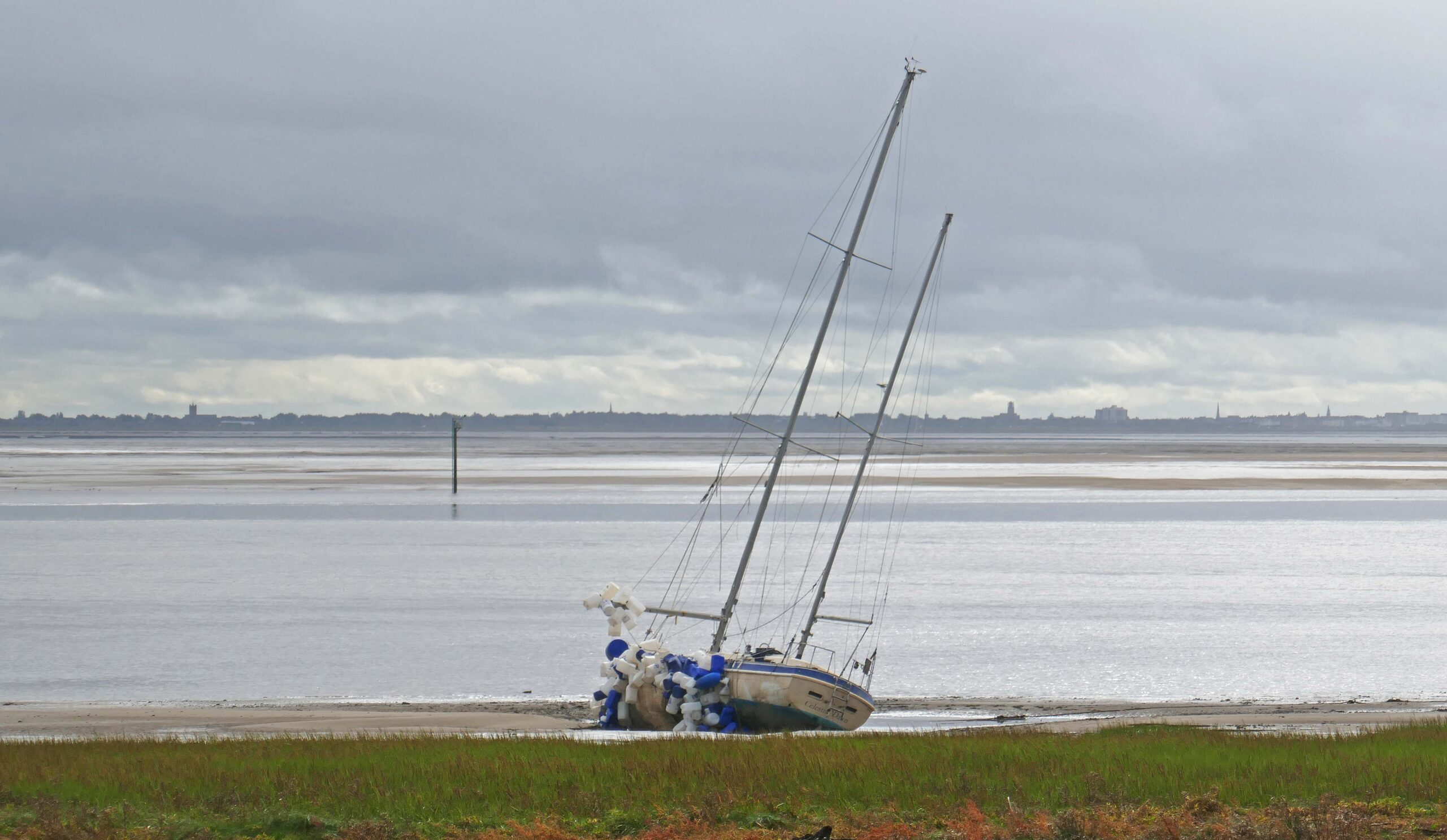 View of Southport looking from Lytham. Photo by Sue Massey