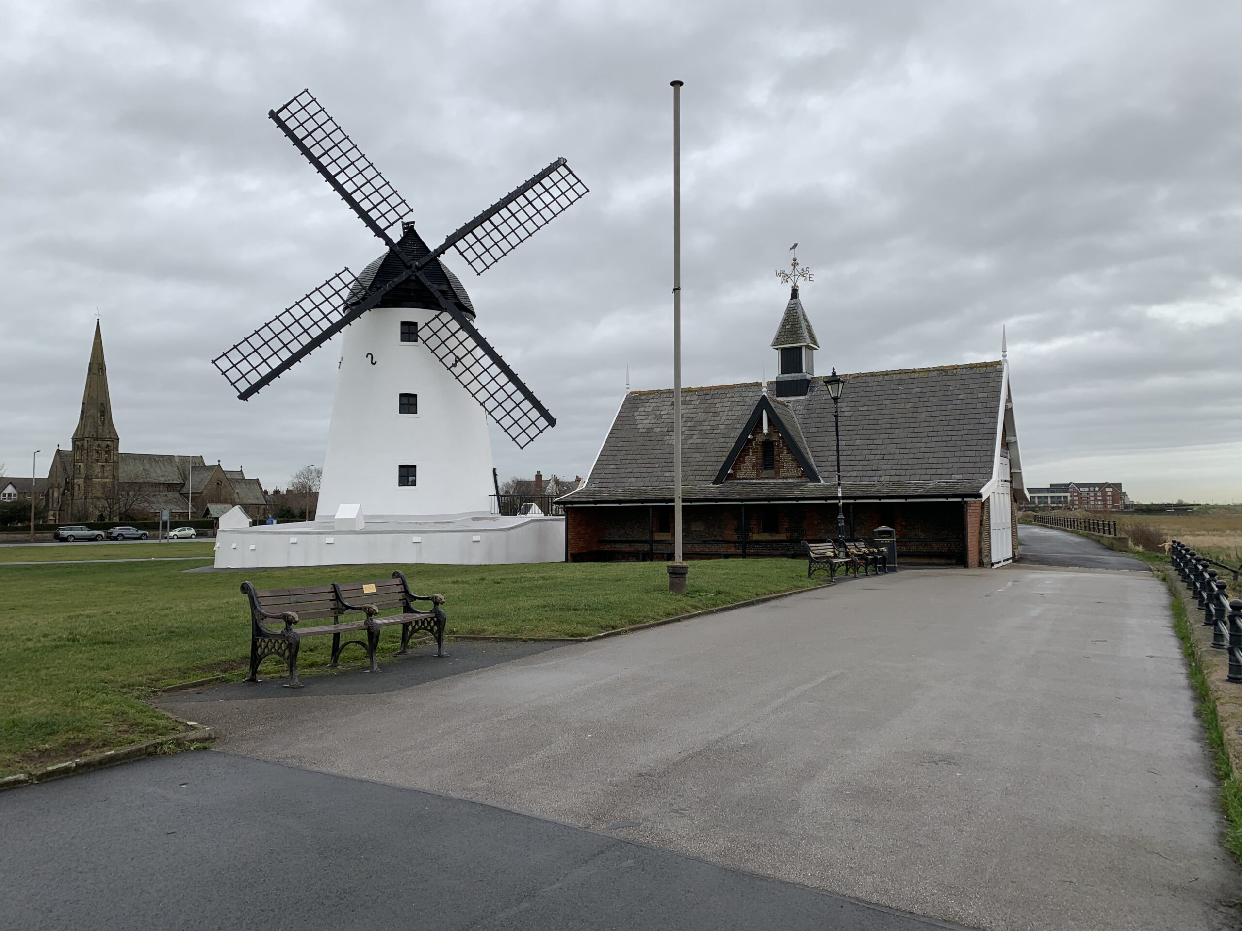 Lytham Old Lifeboat House and Chapman Lifeboat